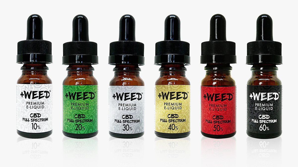 +WEED(プラスウィード)FULL SPECTRUM CBD PREMIUM E-LIQUID NATURE FLAVOR